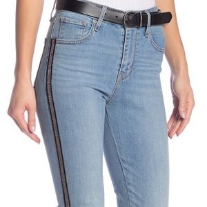 NWT Levi's Sculpt Beaded High Rise Skinny Jeans